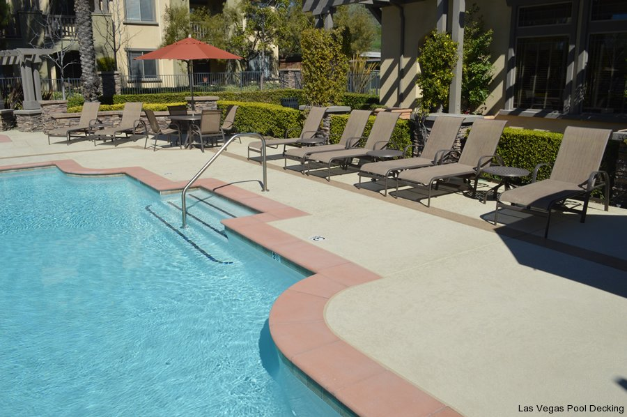 Concrete coating specialists inc las vegas pool deck for Pool and patio show las vegas