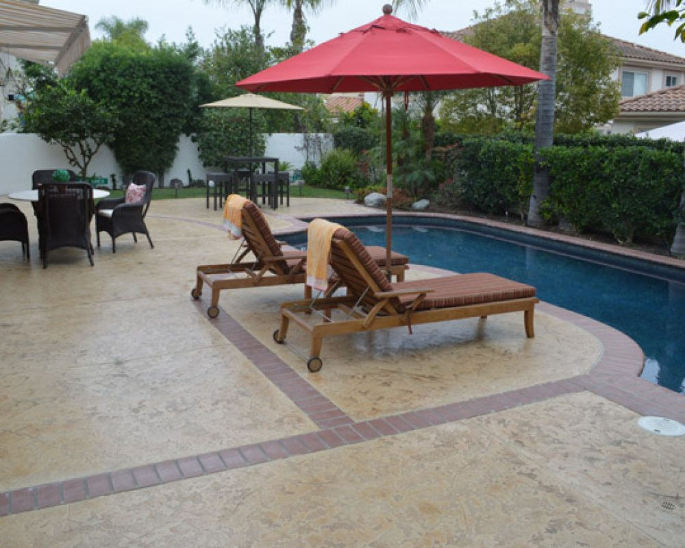 Residential Pool Deck