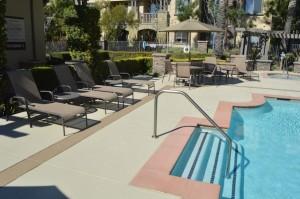 Las Vegas pool decking