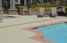Concrete coating specialists inc las vegas pool for Above ground pool decks las vegas